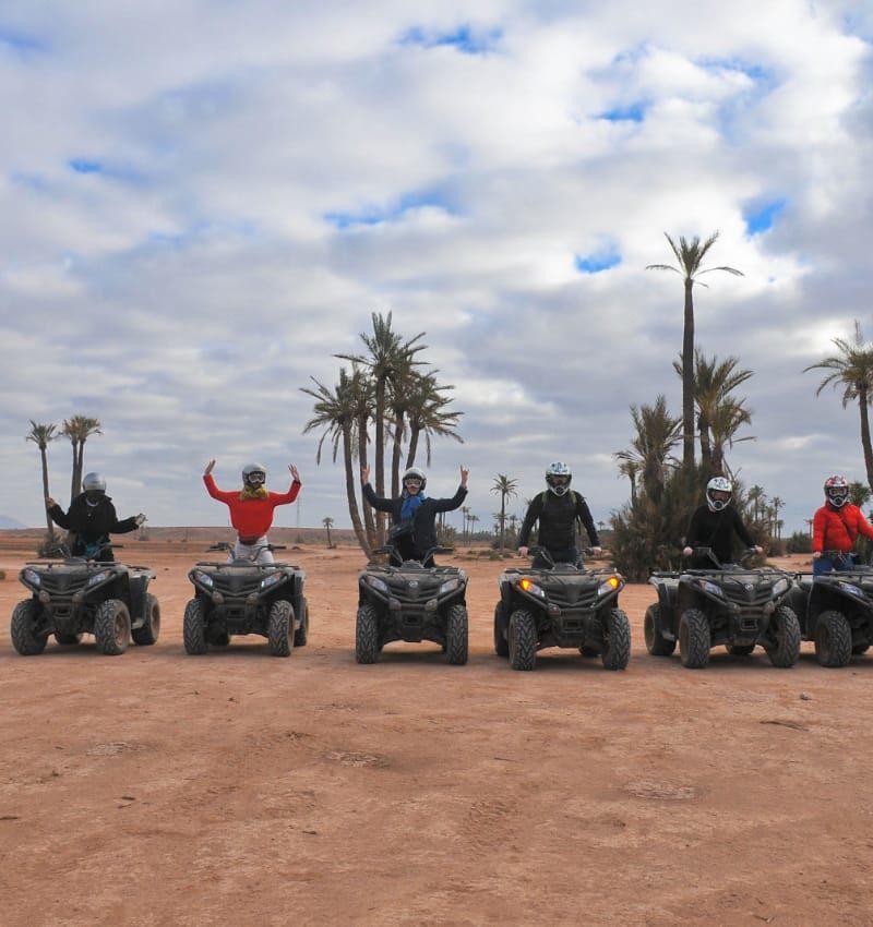 Quad palmeraie Marrakech